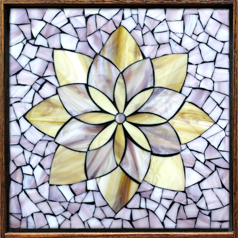 Lotus Flower Mosaic