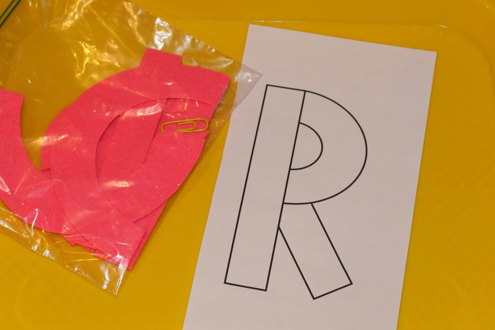 Letter R Toddler Activities