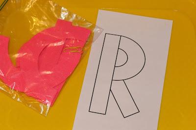Tot School Letter R