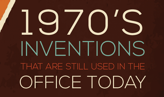 1970's Inventions that are Still Used in the Office Today