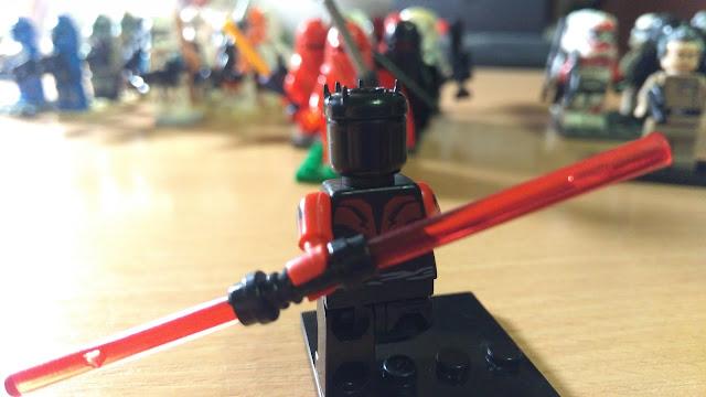 Дарт Мол фигурка лего Звездные войны Star Wars купить