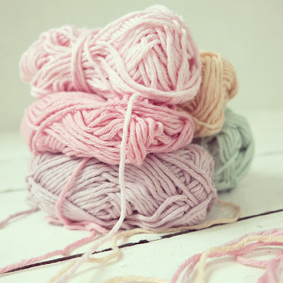 ByHaafner, crochet, yarn, pastel, Drops Paris cotton