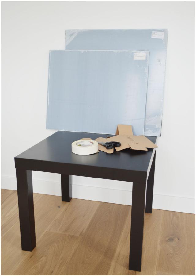 Ikea Hack, mesa de 10€ convertida en una pieza de diseño