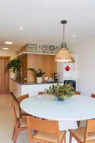 Sala De Jantar Mesa Redonda Branca ~  mesas redondas para inspirar você!  Jeito de Casa  Blog de