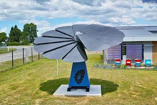 Gerador solar smartflower