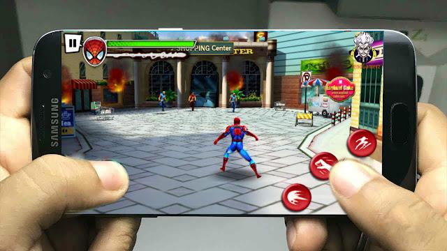 تحميل لعبة سبايدرمان Spider-Man للأجهزة الضعيفة بحجم 280 ميجا بدون أنترنت  لا يفوتك 2018