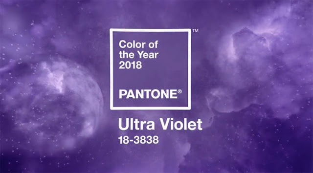 Ultraviolet cor do ano pantone