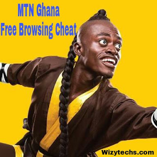 Mtn Ghana free browsing cheat