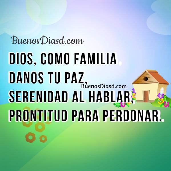 Reflexiones para la familia, frases de buenos días, Dios bendiga tu hogar, mensajes cristianos de feliz día por Mery Bracho