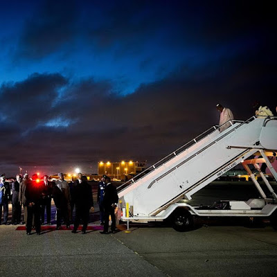 Photos: Pres. Buhari arrives New York ahead of the 71st session of the UN General Assembly
