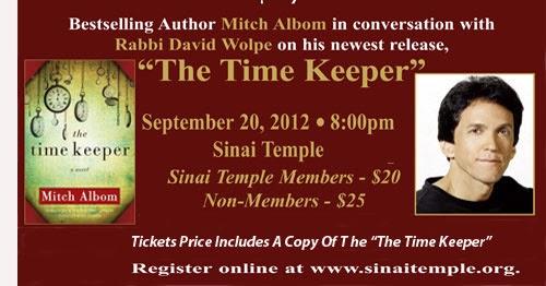 Mitch New 2012 Albom Book