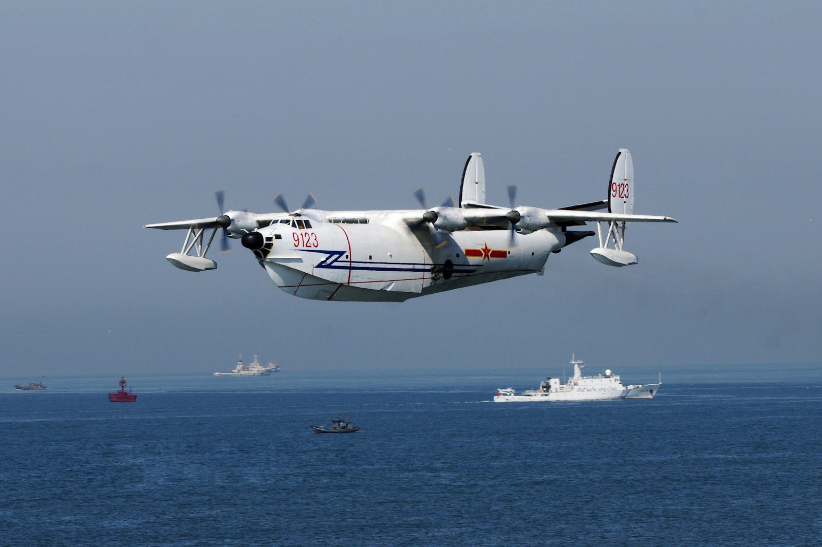 Chinese Sh 5 Maritime Patrol Aircraft Amphibious