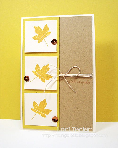With Thanks card-designed by Lori Tecler/Inking Aloud-stamps from Clear and Simple Stamps