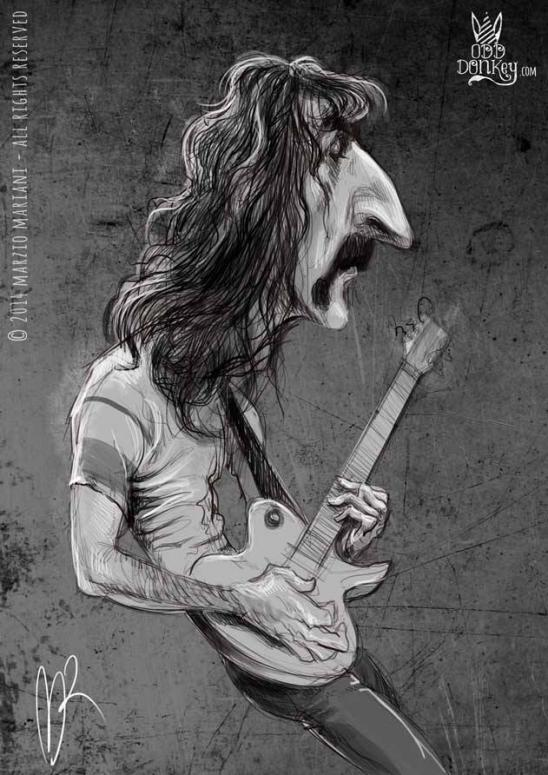 Frank Zappa por Marzio Mariani