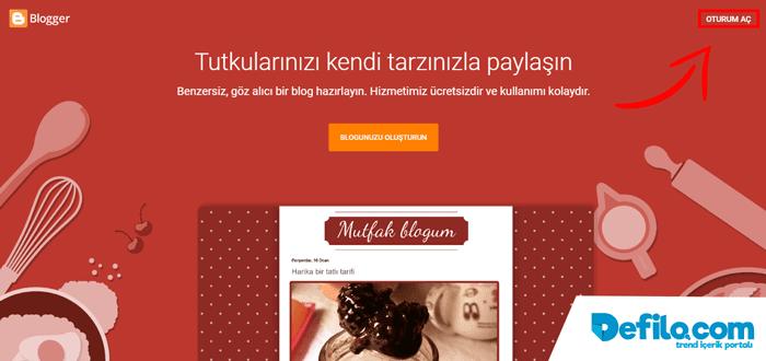 Google Blog Açma