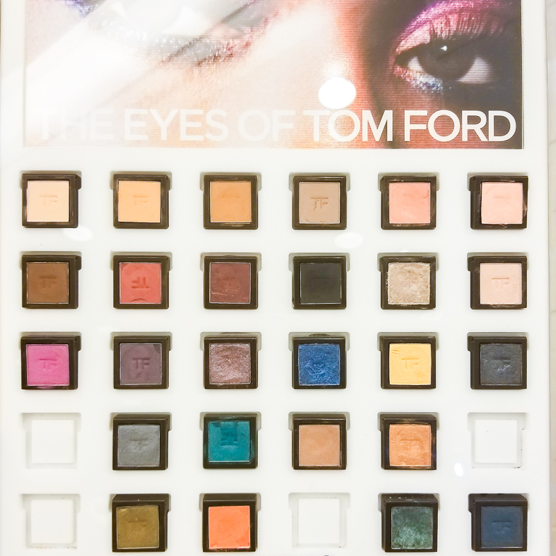 Tom Ford Makeup - Private Eyeshadows - Singles - Swatches