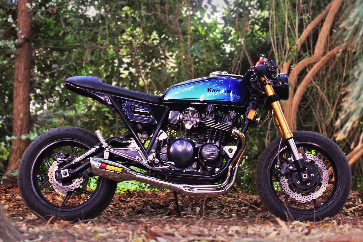 7fifty Ruffo Black Kawasaki Z2 Return Of The Cafe Racers