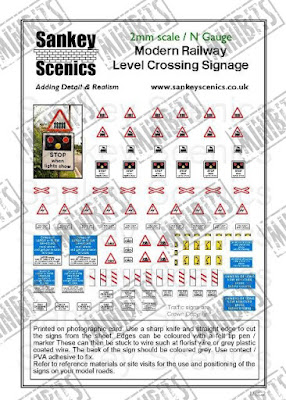 SAN-MLC2   Level Crossing Signage
