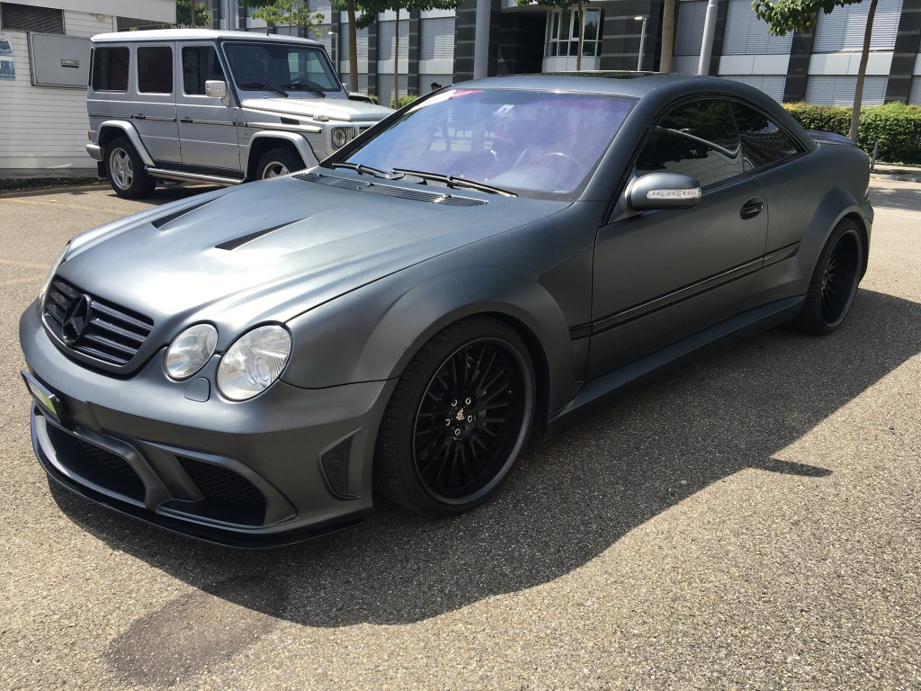 2003 mercedes benz cl55 amg asx wide bodykit benztuning. Black Bedroom Furniture Sets. Home Design Ideas