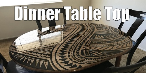 This Beautiful DIY Table Top Decor Technique Really Inspires!