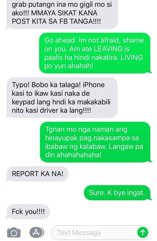 Passenger blames autocorrect for mistake in fight with Grab driver