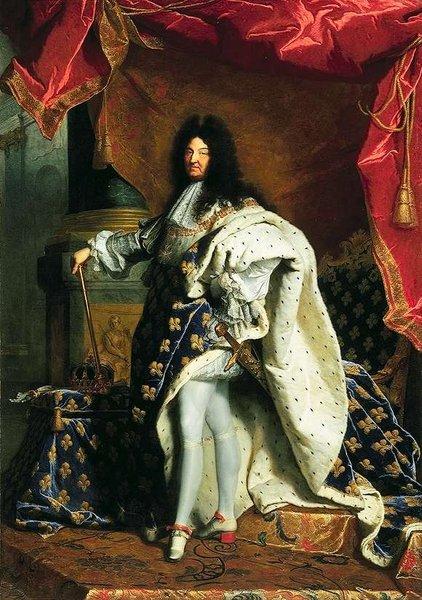 Rei Sol e a Espada Sagrada da França