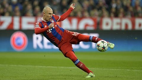 Robben không gục ngã dưới những chấn thương