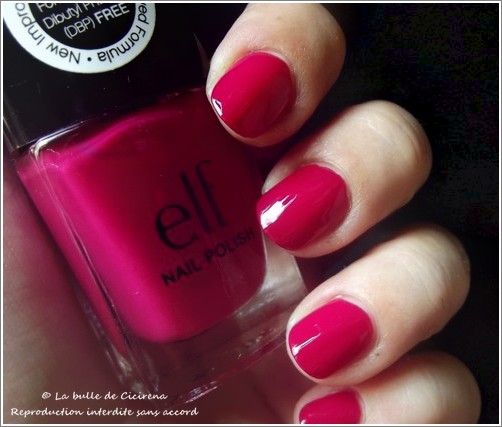 Raspberry Sorbet (#25114), vernis, elf,