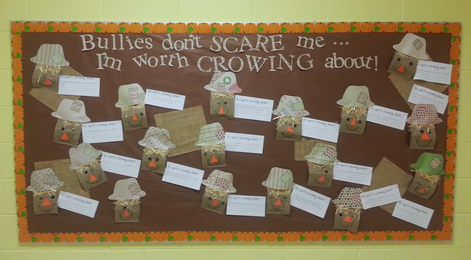 Catchin' Up with the Cardinals!: Bullying Bulletin Boards