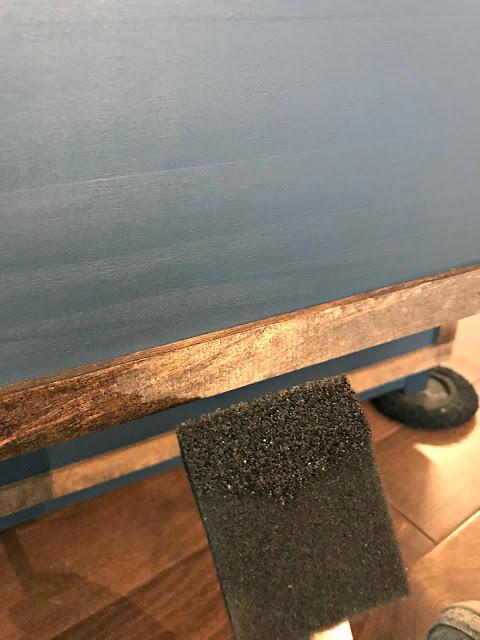 Applying wood trim to furniture