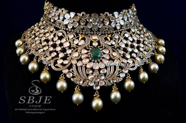 Pachi Choker by Sri Balaji Jewellers