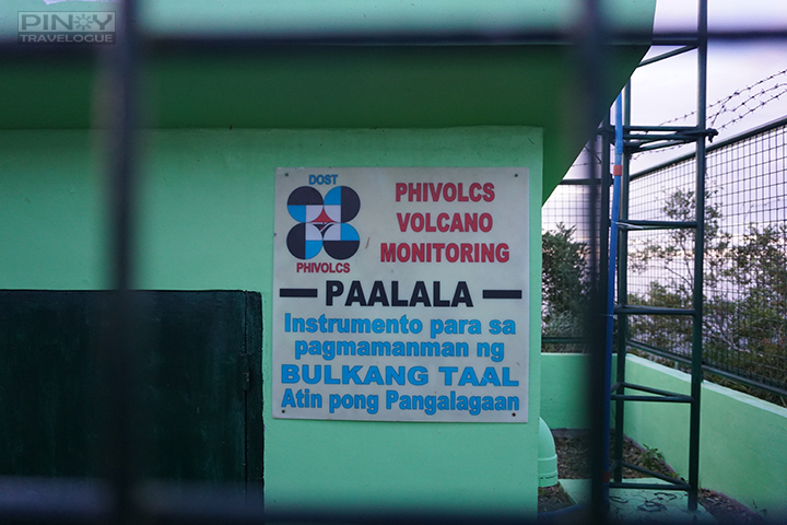 Facility that monitors Taal Volcano's activity