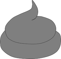Grauer / fettiger Kot