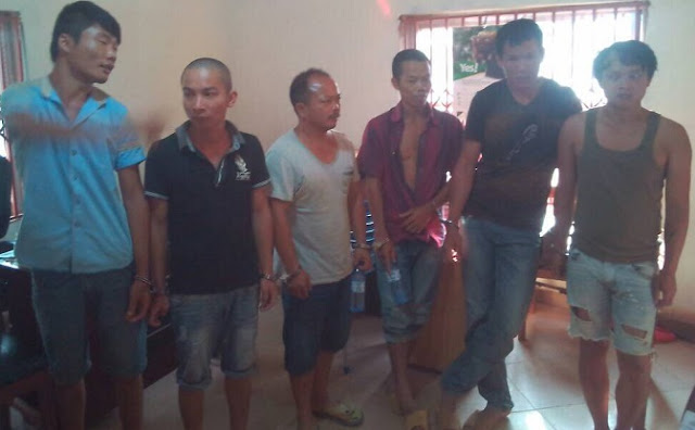 6 Chinese arrested for alleged involvement in galamsey