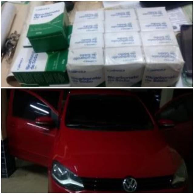 Drogas, dinheiro e uma pessoa foram presas pela ROCAM em São Miguel do Guamá