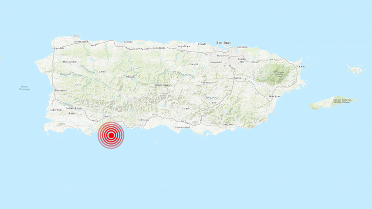 Otro terremoto de 6,6 sacude Puerto Rico y genera alerta de tsunami