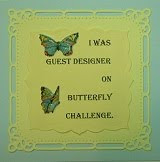 Guest Design at Butterfly Challenge #59