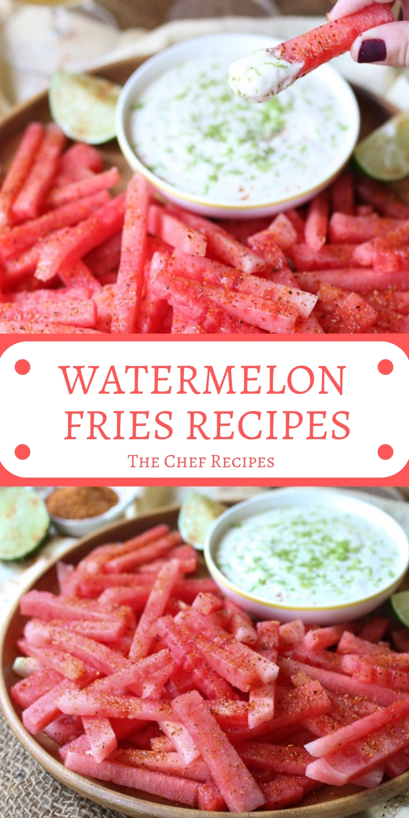 WATERMELON FRIES RECIPES
