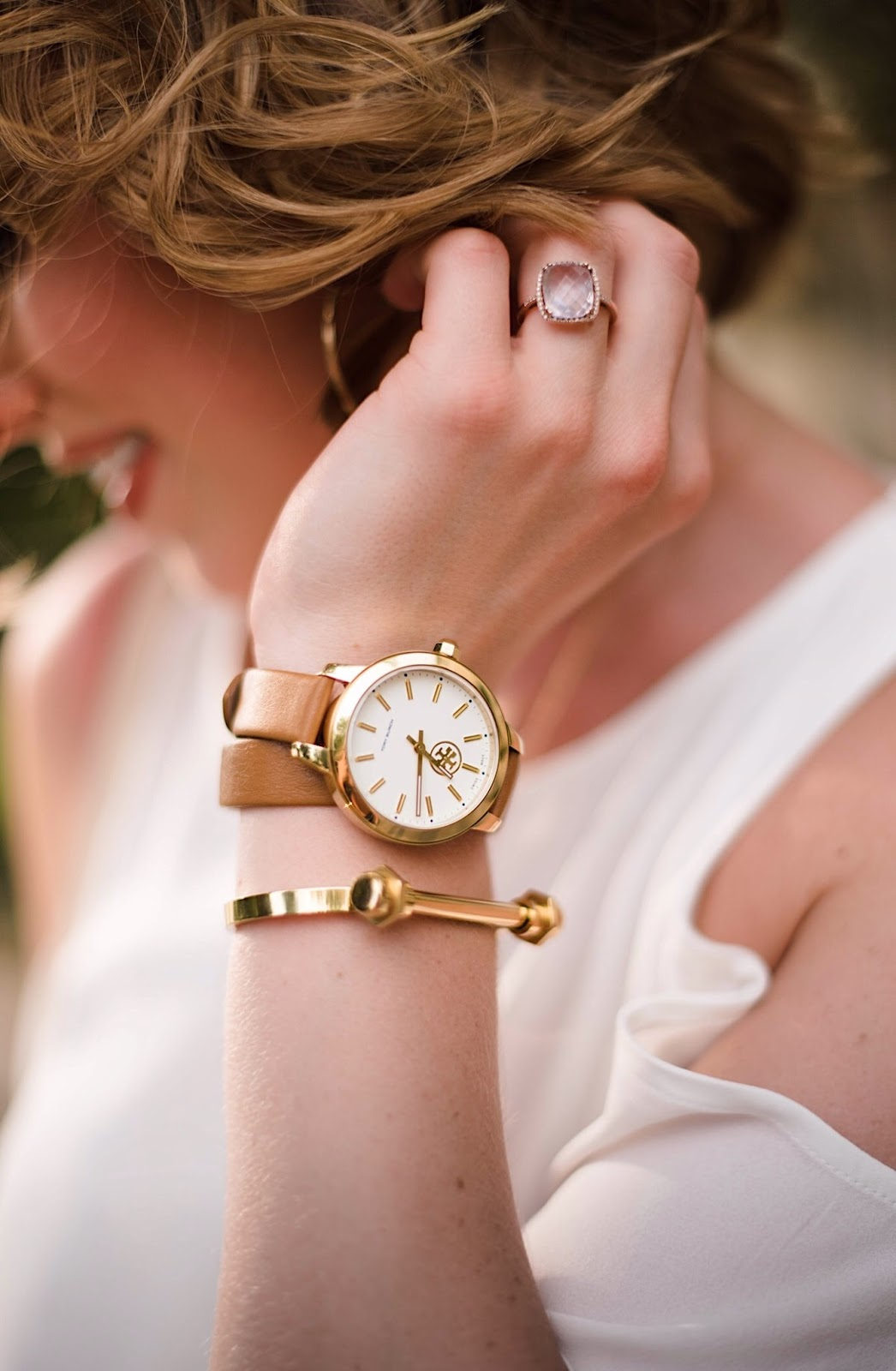 Tory Burch Watch - Click through to see more on Something Delightful Blog!