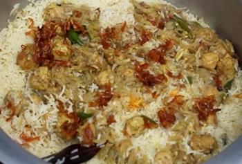 Village Food   Delicious Kofta biryani recipe for Eid festival