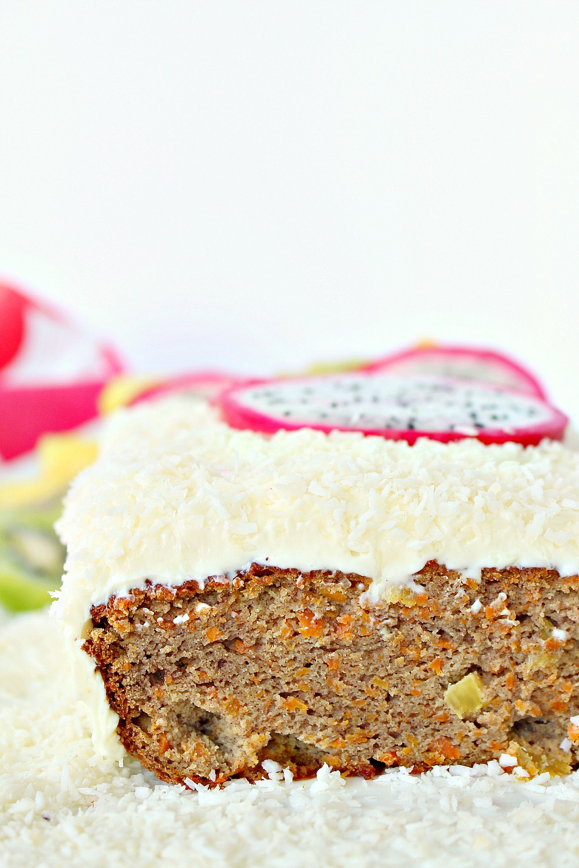 Sugar Free Carrot Cake With Stevia
