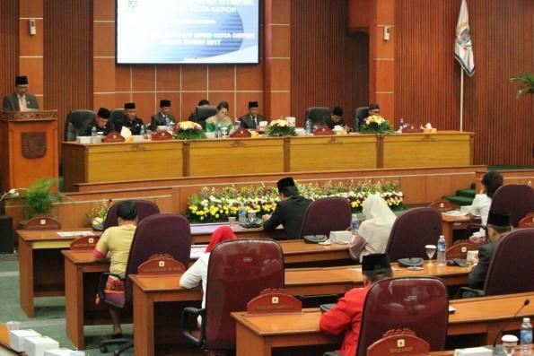 DPRD Kota Depok Sampaikan Rencana Kerja Alat Kelengkapan Dewan