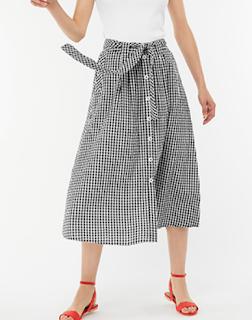 Dolly Gingham Skirt Monsoon