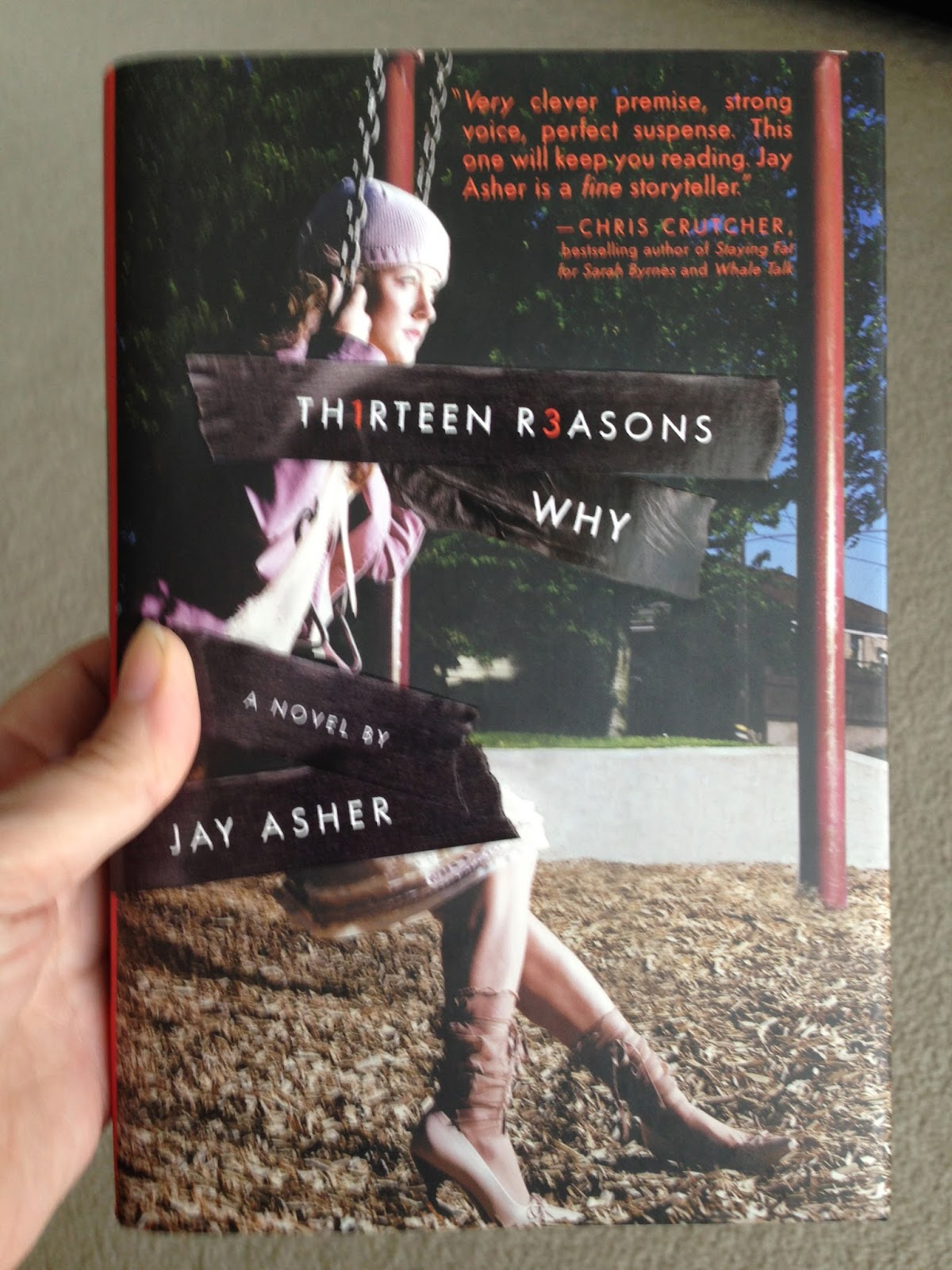"Why A Utilitarian Aesthetic Is What You Need To See You: Tracys Treasures: Book Review ""Thirteen Reasons Why"""