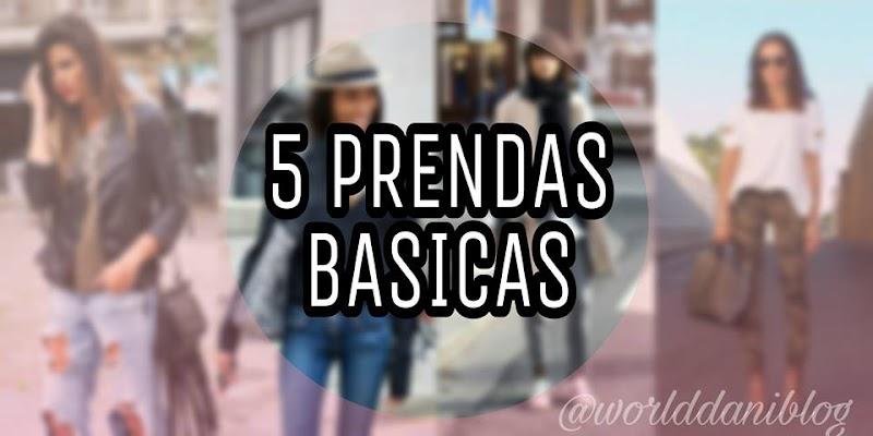 5 BASICOS QUE TODA MUJER DEBE TENER EN SU PLACARD