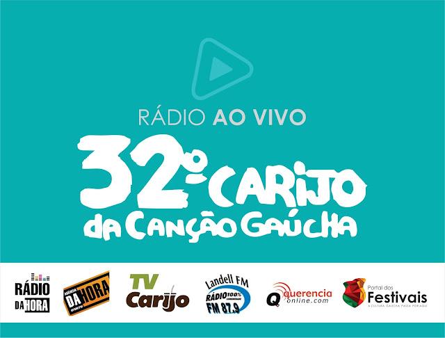Acompanhe ao vivo o 32º Carijo da Canção Gaúcha