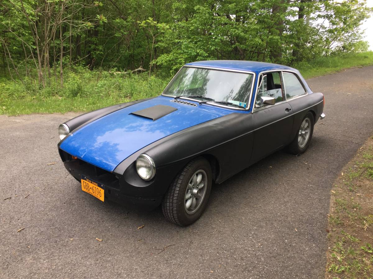 ... because this next British Rat Rod is powered by a Chevy V6. Find this 1974  MG BGT offered for $7000 in Albany, NY via craigslist. From Cory.