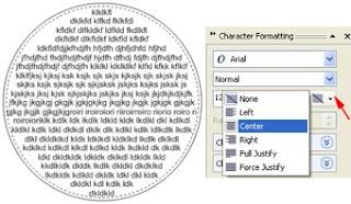 Cara Membuat Teks didalam Objek Pada CorelDraw