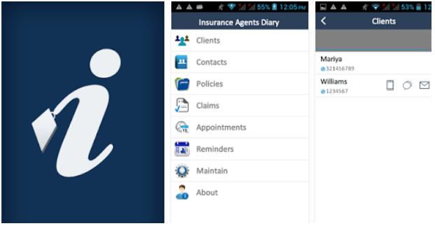 Insurance Agents Diary App