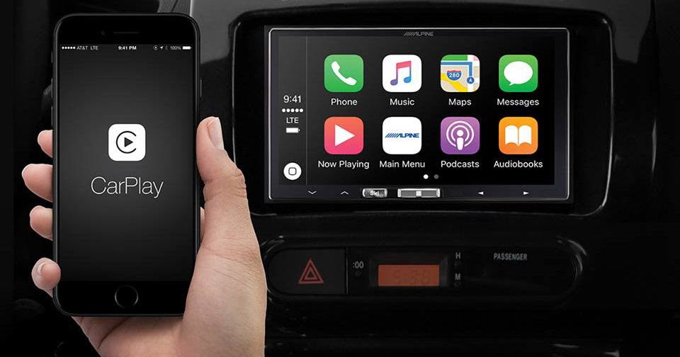 Alpine Makes Wireless Apple Carplay A Reality